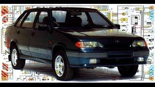 видео Схема электрооборудования автомобиля ВАЗ-2115