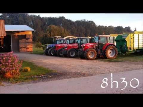 Ensilage maïs 2015 Suisse Broye [Gopro]