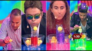 Gambar cover Los famosos jugaron al 'Camino de botellas' - Mi famoso puede