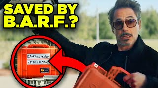 Avengers Endgame Iron Man Secret BARF Plan Explained! (Civil War Revisited)