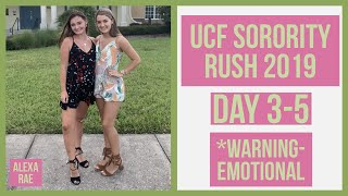UCF Sorority Rush 2019 Day 3 - 5 | Alexa Rae