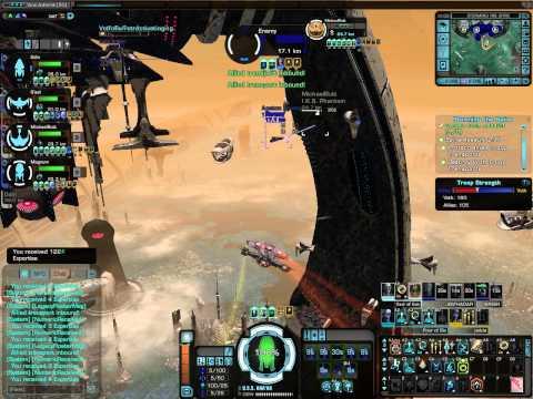 startrek online  dyson sphere battles