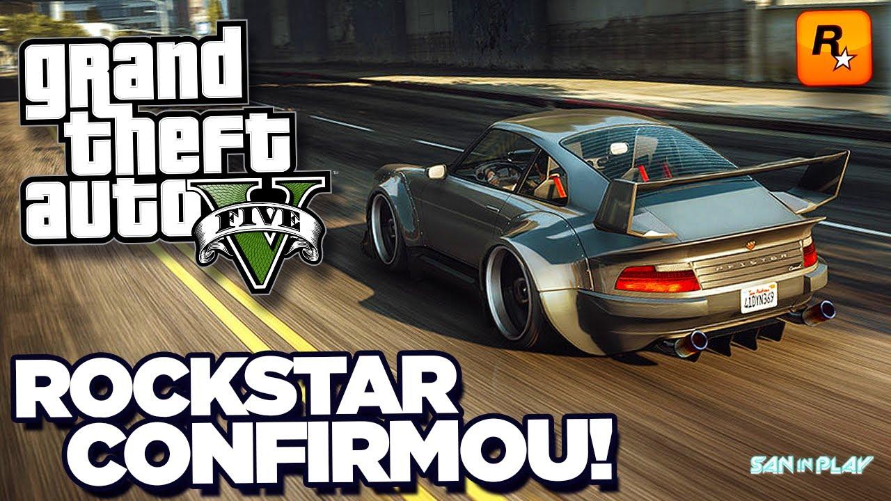 DATA do GTA V da NOVA GERAÇÃO CONFIRMADA pela ROCKSTAR GAMES! - GTA 3 Remake e Mais!