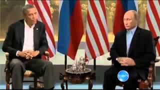 Прикол Путин ворует чайник у Обамы из под носа!!!