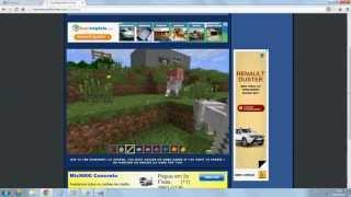 Como jogar Minecraft pelo navegador !! NÃO É A DEMO