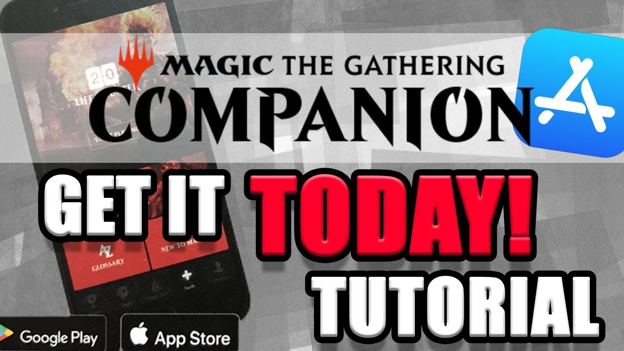 Get the MTG Companion (Portal) App Today! | Magic: The Gathering App  Breakdown and Tutorial
