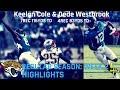 Keelan Cole & Dede Westbrook Week 2 Highlights | Underrated 09.16.2018