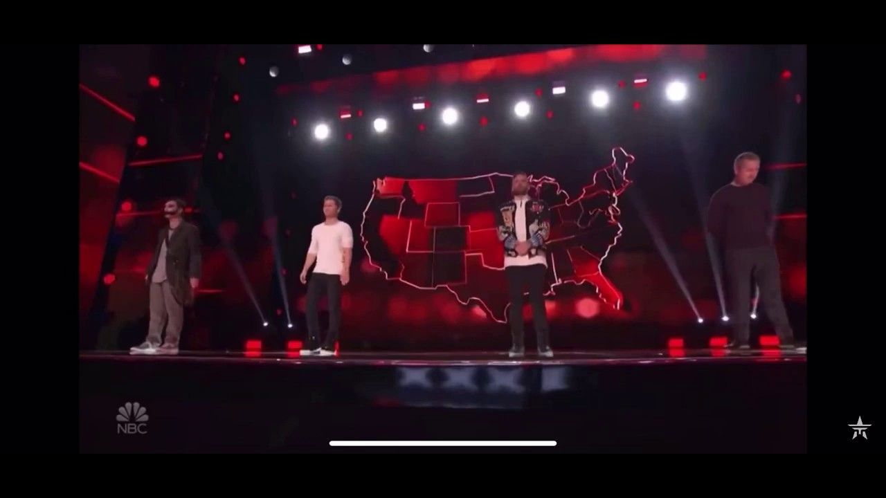 americas got talent the champions four