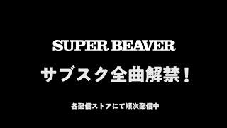 SUPER BEAVER 全楽曲サブスク解禁SPOT