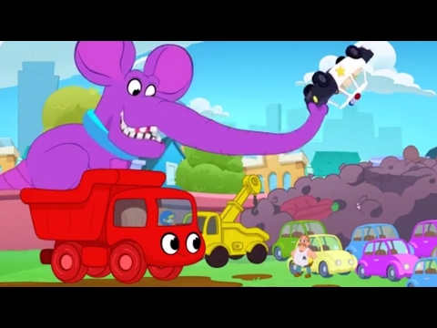 Morphle The Dumptruck Brings The Giantophelous home - Animation for Kids