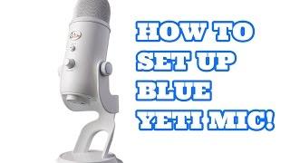 how to setup blue yeti mic on windows 10   with turtle beaches