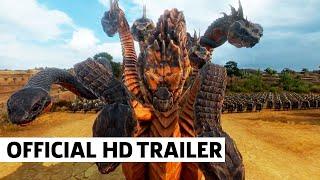 A Total War Saga TROY MYTHOS Gameplay Reveal (The Lernean Hydra)