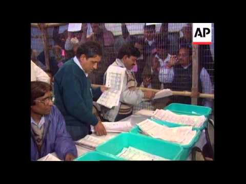 India - Vote counting