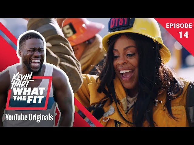 Firefighting with Niecy Nash | Kevin Hart: What The Fit Episode 14
