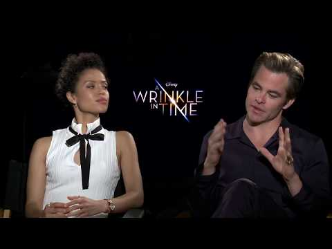 A WRINKLE IN TIME Chris Pine & Gugu Mbatha-Raw Interview
