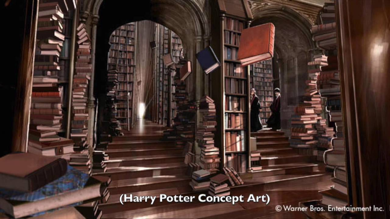 Fantasy Libraries - YouTube