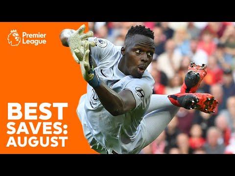 BEST Premier League saves | Édouard Mendy, David de Gea, Alisson Becker & more! | August