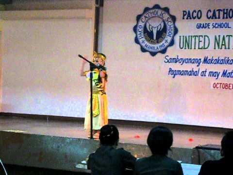 U.N. Celebration - Jana Jean N. Ogoc - Ms. Egypt - 1st runner up!