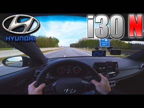 PERFECT 2018 Hyundai i30 N Performance 0 250 km h POV TOP SPEED, Acceleration TEST