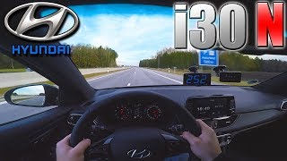 PERFECT 2018 Hyundai i30 N Performance 0 250 km h POV TOP SPEED, Acceleration TEST смотреть