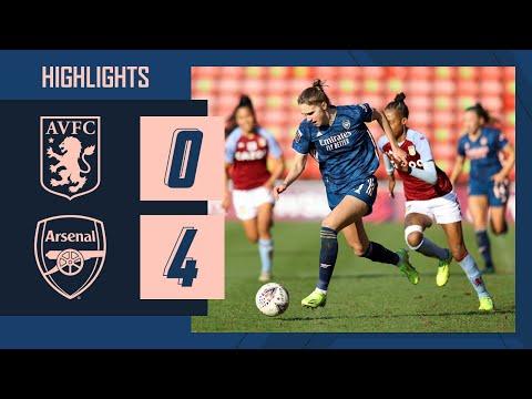 HIGHLIGHTS | Aston Villa vs Arsenal (0-4) | McCabe with an unstoppable strike!