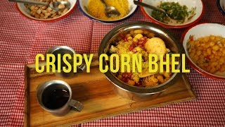 How to make Crispy Corn Bhel