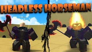 HEADLESS HORSEMAN!! (Halloween Event) | Roblox: Ultimate Crossover