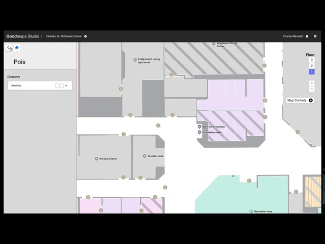 Learn all about how you can use GoodMaps Studio to securely store, maintain and edit your building mapping data and share it with other navigation applications.