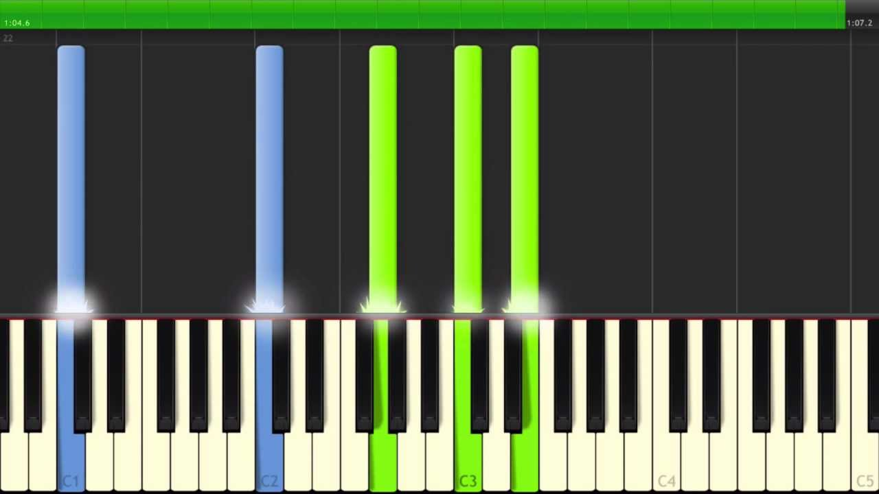 Canon in d amazing easy to learn piano tutorial youtube hexwebz Gallery