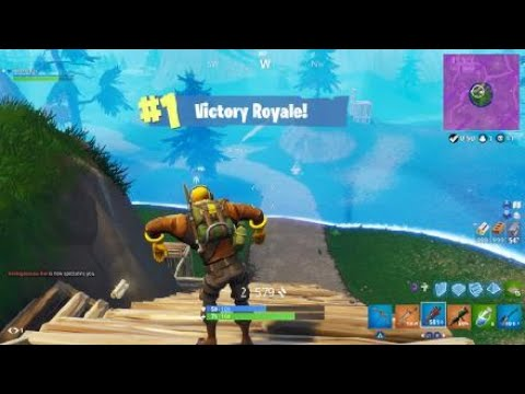 RAPTOR Gameplay & Win (Fortnite Battle Royale)