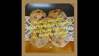 CHOCOLATE CHIP COOKIES! FAVORITE RECIPE/HOW TO-MATURE BEAUTY/LIFESTYLE!