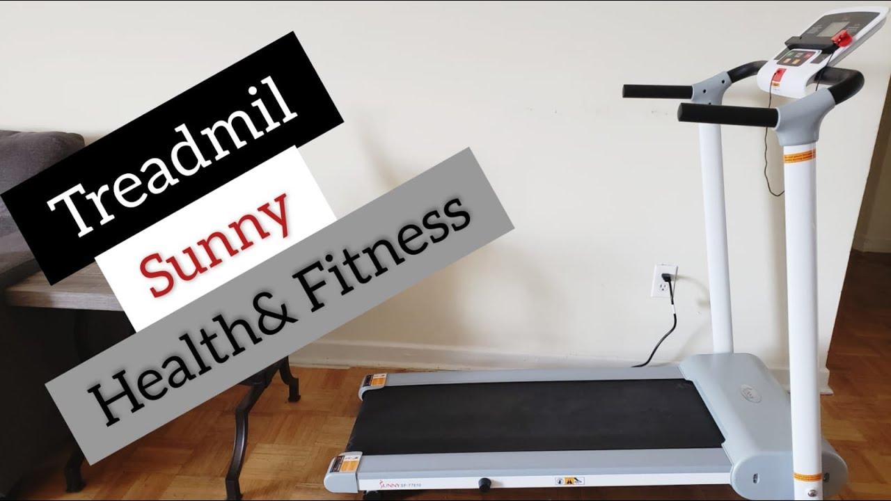 Sunny Health Fitness (SF-T7610) Treadmill Unboxing & Review #Sunnyhealthfitness #Treadmill