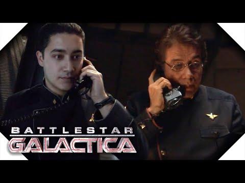 Battlestar Galactica | Gaeta Uncovers The Baltar's Conspiracy