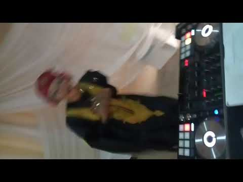 Dancing green light by DJ cuppy