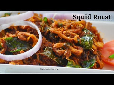squid roast koonthal kanava roast ep 657 kerala cooking pachakam recipes vegetarian snacks lunch dinner breakfast juice hotels food   kerala cooking pachakam recipes vegetarian snacks lunch dinner breakfast juice hotels food