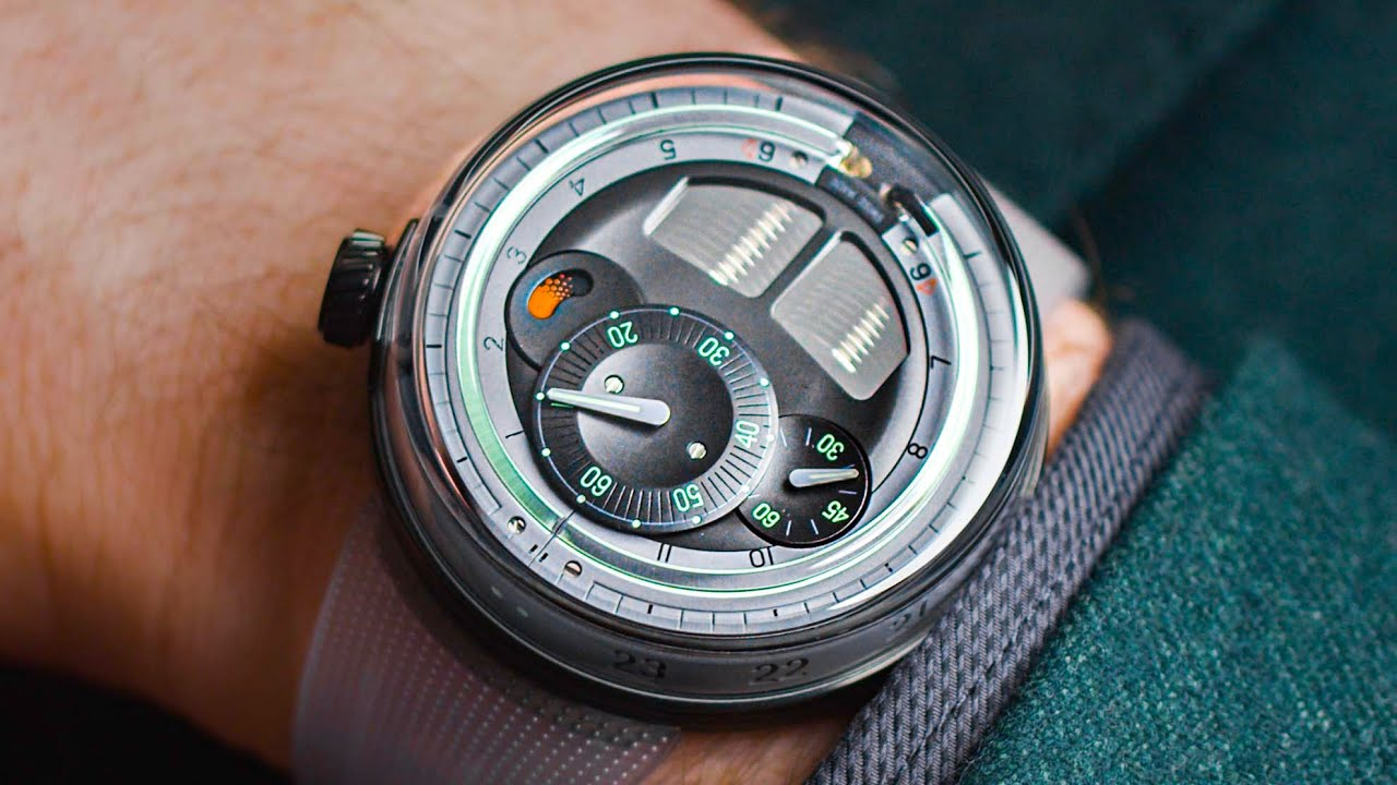 Download Liquid Time Display?! HYT H0 Watch Review   Swiss Watch Gang