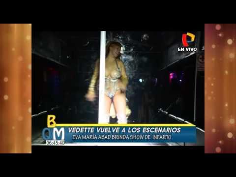 Eva Maria Abad vuelve a los escenarios en Huancayo