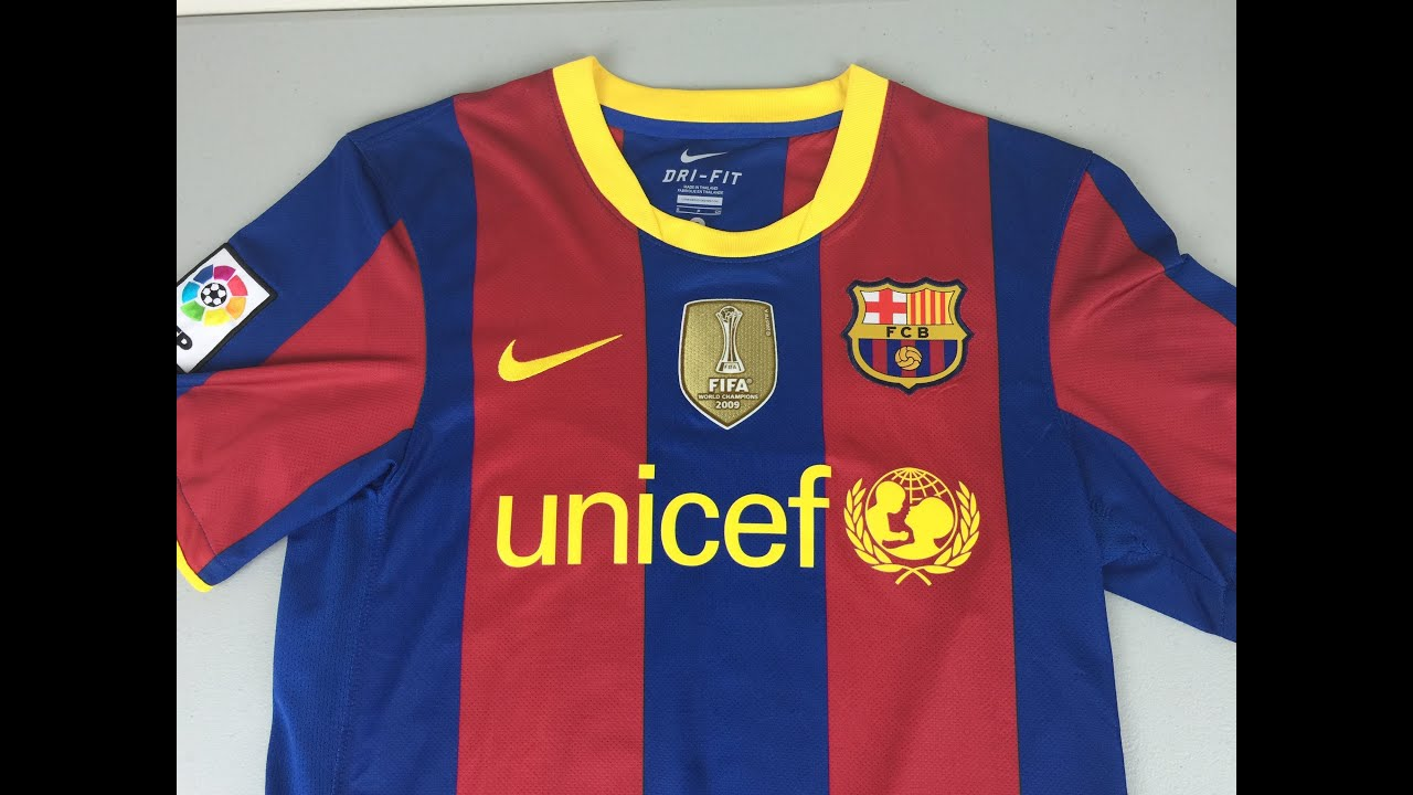 831478f6c Retro Review  2010 2011 FC Barcelona Home Jersey by Nike (4K) - YouTube