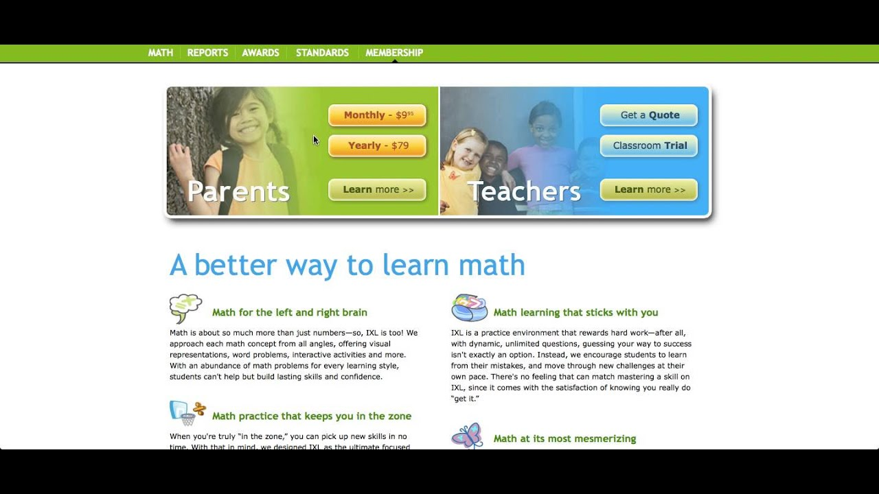 IXL math and abcmouse.com - YouTube