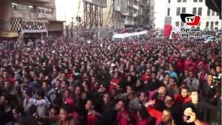مسيرة لـ«أولتراس أهلاوي» من «الفتح» إلى «التحرير»