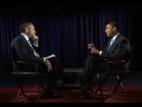 Obama with Brian Williams Part1  1/3