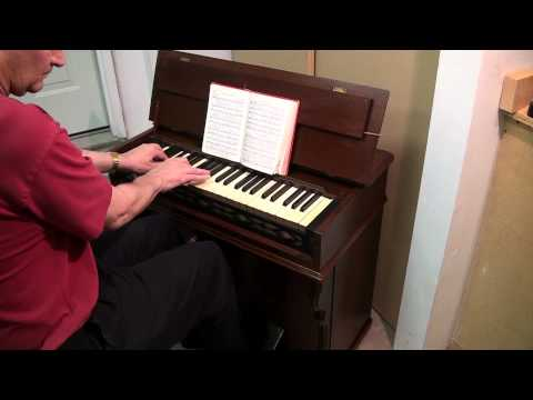 Introduction of Circa 1877 Mason and Hamlin Portable Reed Organ with a Hymn