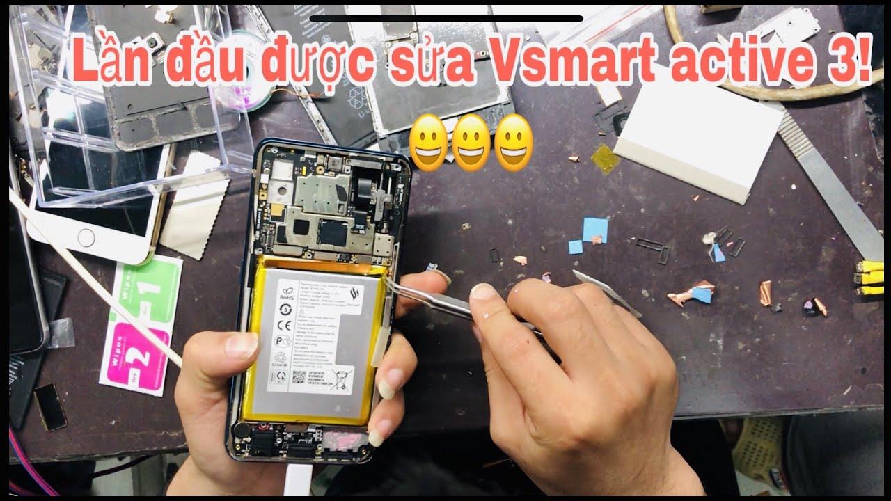 Lần đầu trên tay Vsmart active 3. Bung máy ra main, mạch nhìn đẹp, phần cứng trông chắc chắn!