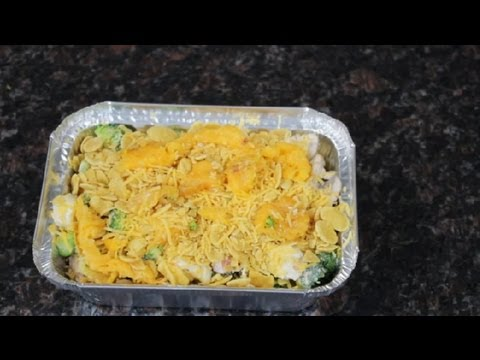 Chicken, Broccoli & Cheese Casserole With Corn Flakes : Cooking With Broccoli