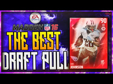 Madden 16 Ultimate Team: Flashback Chris Johnson - Draft Champion (Best Running Back in Madden 16?)