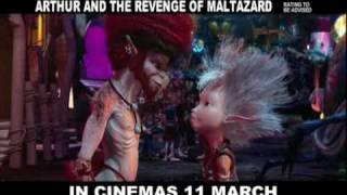Arthur and the Revenge of Maltazard - Official Trailer