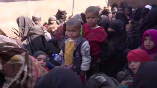 À Baghouz en Syrie, des centaines de civils ont été libérées de Daesh