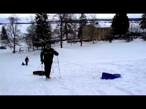 Backträning i Kärringbacken, Frösön