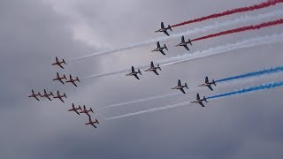 Concorde 50 Flypast and the Red Arrows at RIAT 20th July 2019