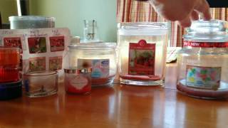 Candle & Wax & Soap Empties August 2016